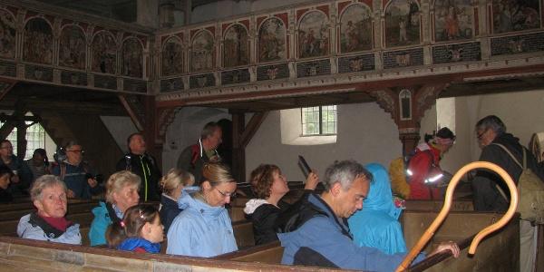 In der Theobaldikapelle Wernigerode
