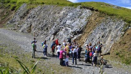 Sul sentiero geologico Dos Capel