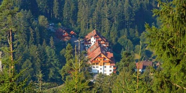 Das Hotel Forsthaus Auerhahn in Hinterlangenbach