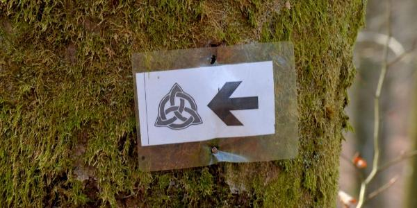 Wegzeichen Keltenweg