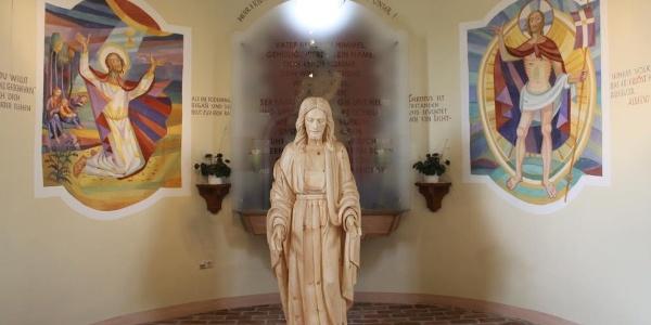 Kernkapelle - Emmausjesus Hand Pendl