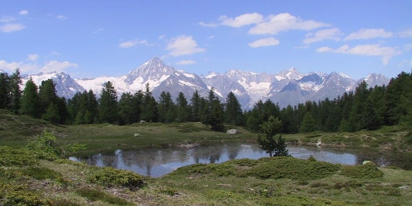 Bergseen und Moore auf der Moosalp