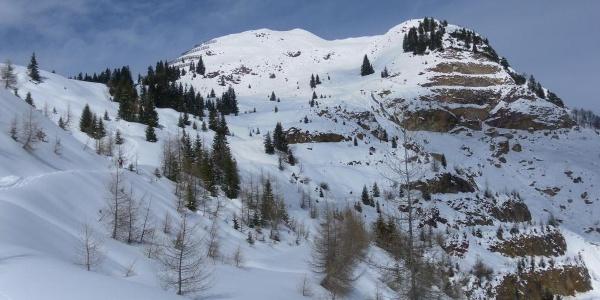 oberer Bergwerksbereich vor dem Bürglkopf