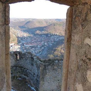 Blick vom Hohenurach
