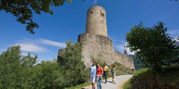 Burg La Bâtiaz