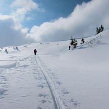 Aufstieg Richtung Gipfel