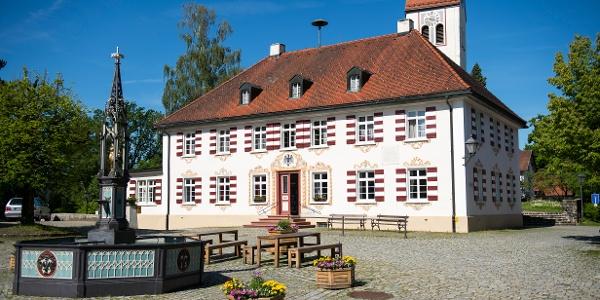 Eglofs - Dorfplatz