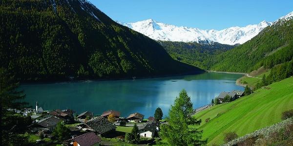 Lake Vernagt/Vernago