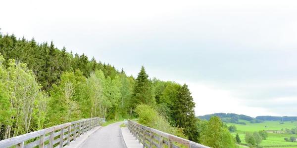 Unterwegs auf dem 2. Abschnitt der Schlossparkradrunde