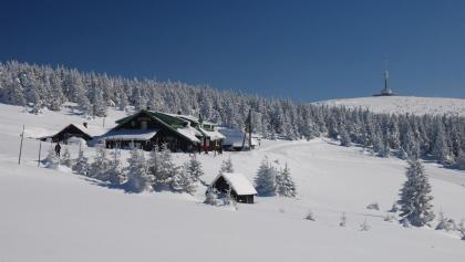 Švýcárna a Praděd v zimě