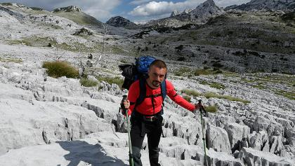 Hiker in Zakantar area
