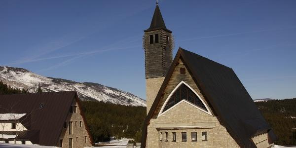 The Saint Elijah's Church in Masna Luka