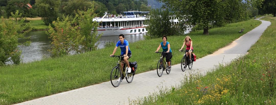 Radfahren in der Region Liebliches Taubertal
