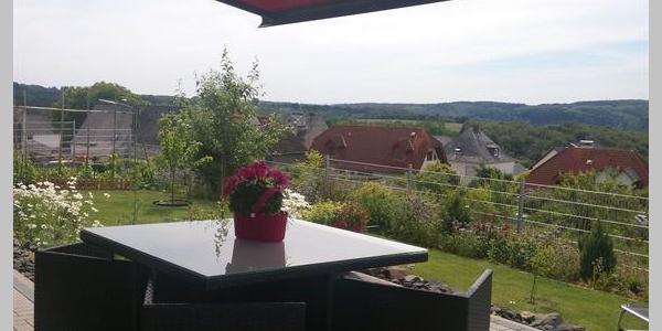 Terrasse mit Aussicht