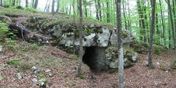 Ricovero in roccia