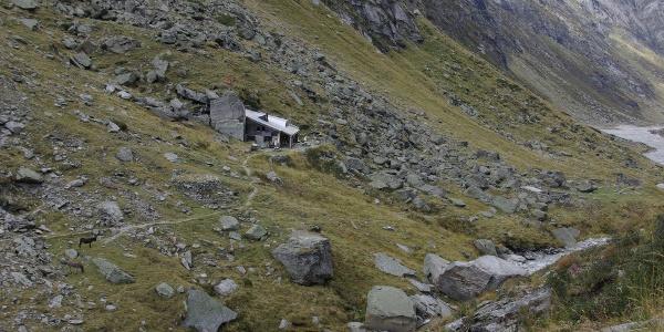 Länta Hütte SAC; Foto: Hubert Hodel