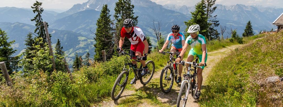 Mountainbiken in Wagrain