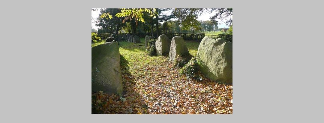 Megalithgrab aus der Jungsteinzeit in Lengerich-Wechte