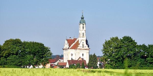 BAROCK bestaunen: Die schönste Dorfkirche der Welt - die Wallfahrtskirche Steinhausen