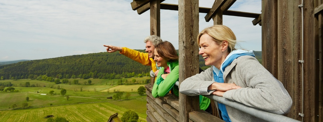 Tolle Aussicht vom Solling-Turm