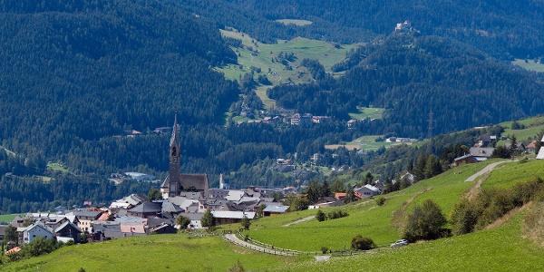 Das Engadiner Dorf Sent