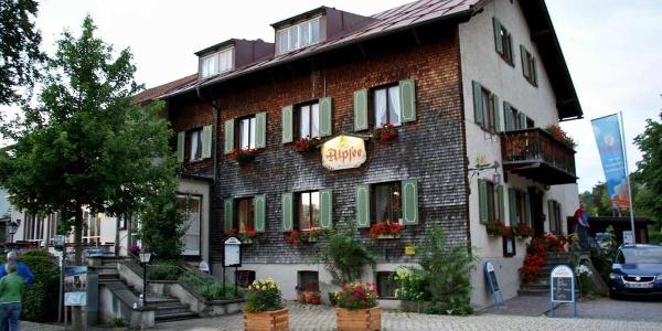 Das Gasthaus zum Alpsee