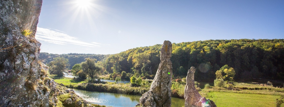 Die Steinernen Jungfrauen im Eselsburger Tal