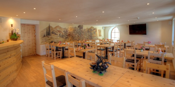 Das Restaurant Helvetia im Val Müstair