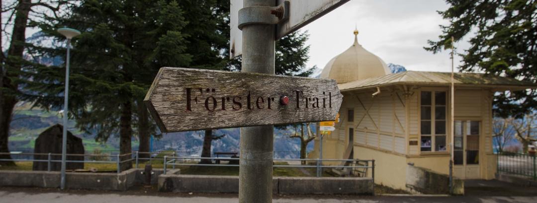 Beginn Förster-Trail