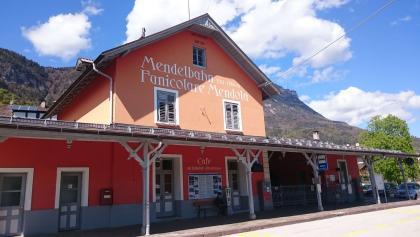 Stazione a valle della funicolare Passo Mendola a Caldaro