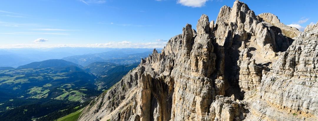 Klettersteige im Eggental