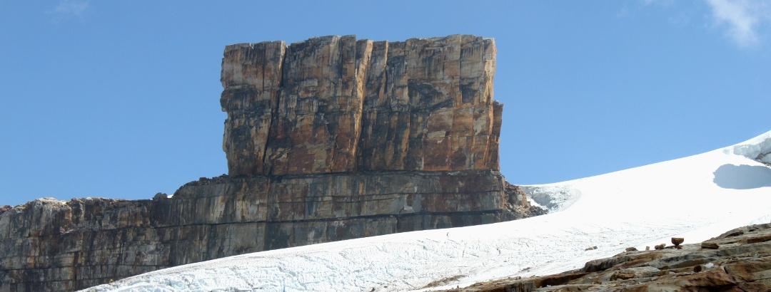 Immer mächtiger türmt sich der Púlpito del Diablo (4949 m) vor einem auf.