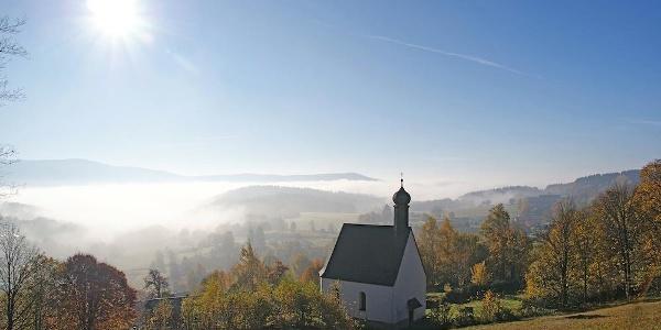Herbstimmung bei St. Leonhard