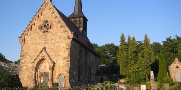 Dorfkirche - Löbschütz