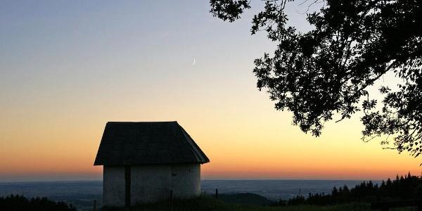 Abendstimmung bei Meinstorf-Kapelle