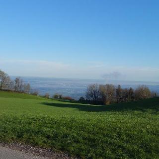Blick Richtung München vom Samerberg