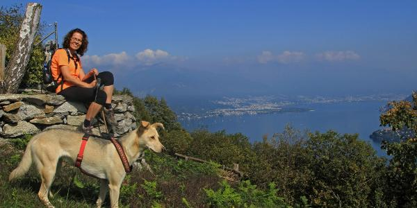 Aussicht von der Alpe Marcalone