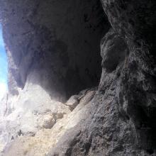 Vor dem ersten Felsentor