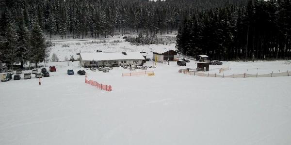 Der Skihang Ruhrquelle