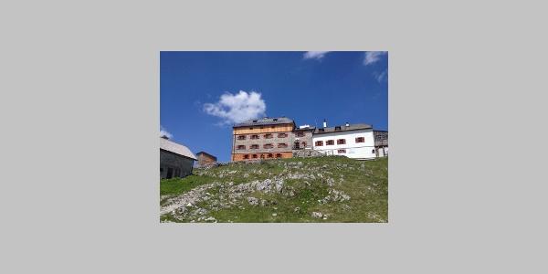 Das Watzmannhaus - Ziel für den ersten Tag der Watzmanntour