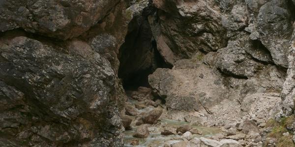 Am Aussichtspunkt der Mlinarice-Klamm