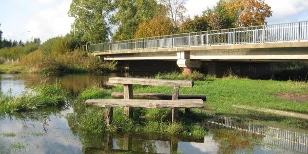 Brücke über die Örtze in Eversen