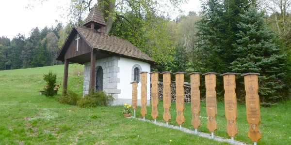 Kapelle mit Totenbrettern in Pillersberg