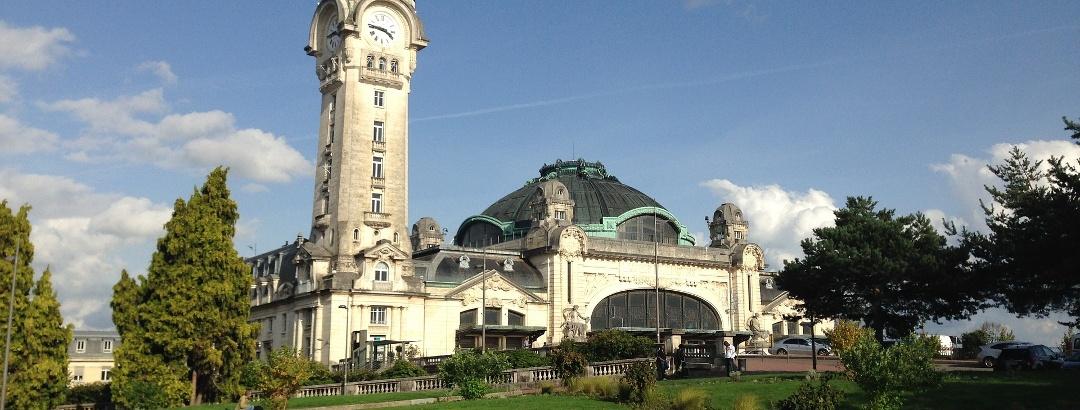 Die Hauptstadt Limoges und der Gare de Limoges-Bénédictins