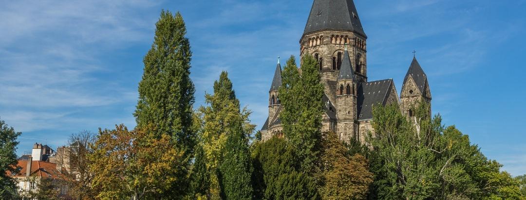 Metz' Kirche in der Stadtmitte