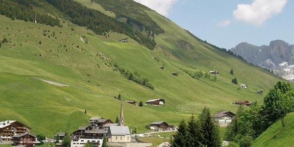 Mitten in der herrlichen Bergwelt: St. Antönien