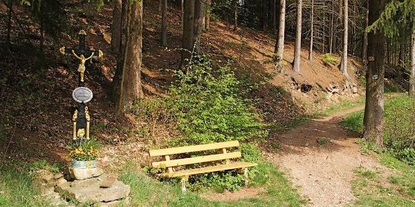 Wegkreuz am Weg nach Untermühlbach