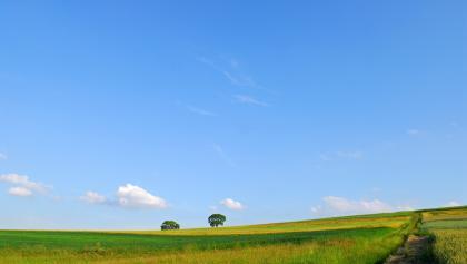 Landschaft im Mittleren Fuldatal