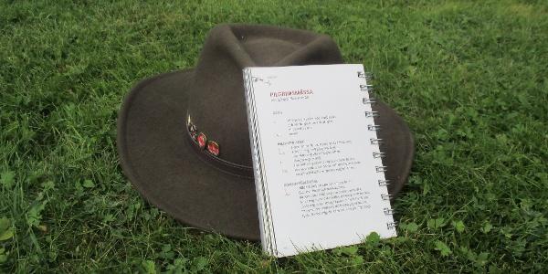 Pilgrimshatt och bönebok