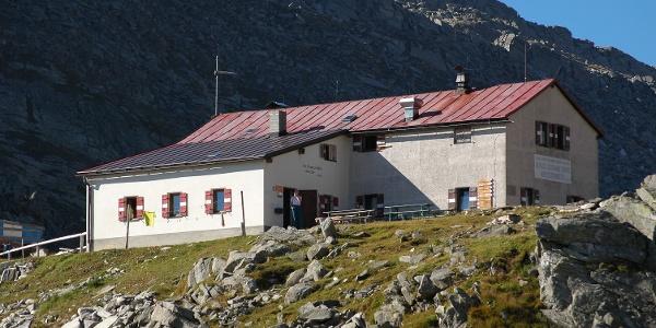 Blick auf die Chemnitzer Hütte